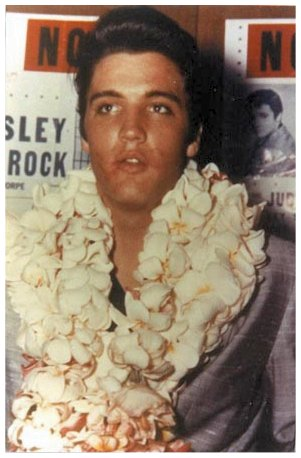 Elvis with Lei 2