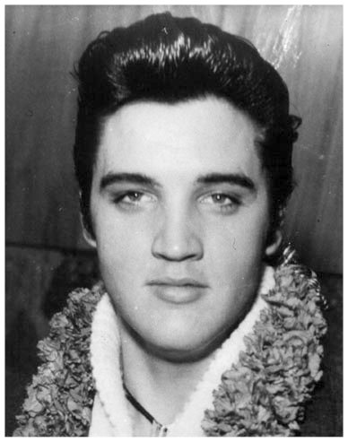 Elvis with lei 1